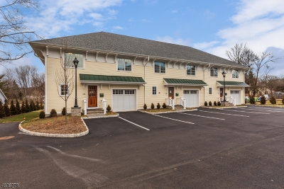 Mendham Boro Condo/Townhouse For Sale: 15 West Main