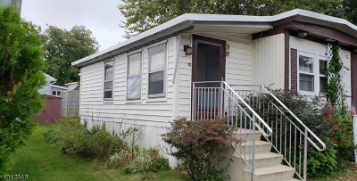 Chester Boro NJ Single Family Home For Sale: $16,000