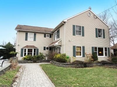 Roxbury Twp. Multi Family Home For Sale: 11 Sunset Ter Succ