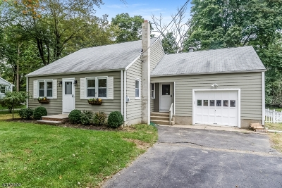 Mendham Boro Single Family Home For Sale: 3 Emery Ave