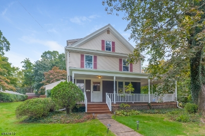 Bernardsville Boro Single Family Home For Sale: 66 Mt. Airy Rd