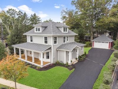 Bernardsville Boro Single Family Home For Sale: 4 Olcott Ave.