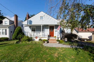 Morris Twp. Single Family Home For Sale: 1 Sherman Pl