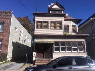 Passaic City Multi Family Home For Sale: 58 Richard St