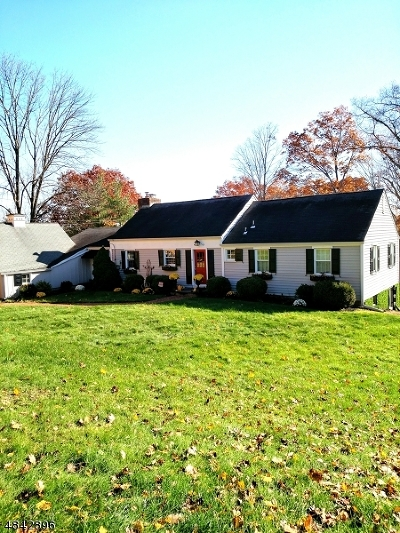 Bedminster Twp. Single Family Home For Sale: 82 Deer Haven Rd