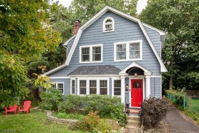 Millburn Twp. Single Family Home For Sale: 24 Old Short Hills Rd