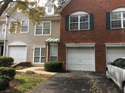 Bernards Twp. Condo/Townhouse For Sale: 6 Paine Ct