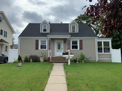 Linden City NJ Single Family Home For Sale: $309,000