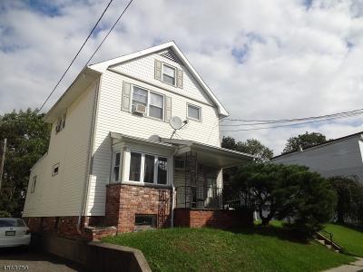 Haledon Boro Multi Family Home For Sale: 326 W Clinton St