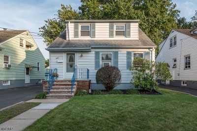 Linden City Single Family Home For Sale: 544 Monmouth Ave