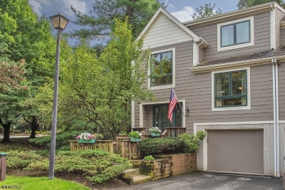 Woodland Park Condo/Townhouse For Sale: 2 Mill Pond Rd