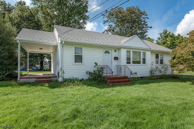Manville Boro Single Family Home For Sale: 215 Czaplicki St