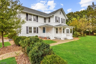 Bedminster Twp. Single Family Home For Sale: 765 Larger Cross Road