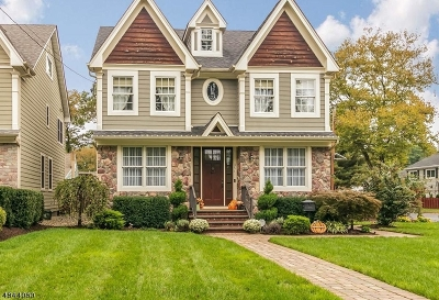 Scotch Plains Twp. Single Family Home Active Under Contract: 351 William St