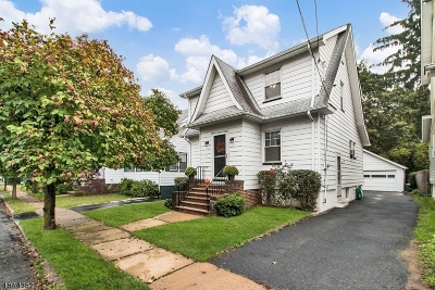 Maplewood Twp. Single Family Home For Sale: 14 Menzel Ave