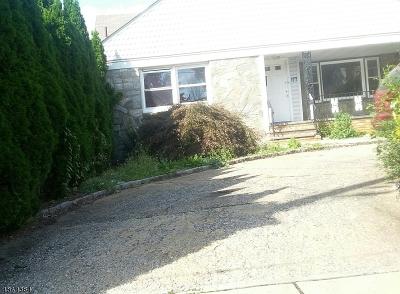 Hillside Twp. Single Family Home For Sale: 177 Hartley Ter
