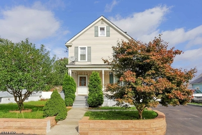 Edison Twp. Single Family Home For Sale: 69 Meadow Rd