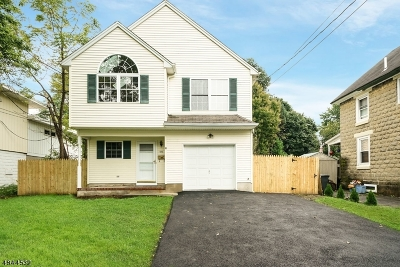 Roxbury Twp. Single Family Home For Sale: 576 Main St Land