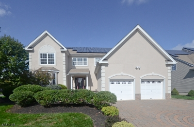 Franklin Twp. Single Family Home For Sale: 1 Foxfield Ct