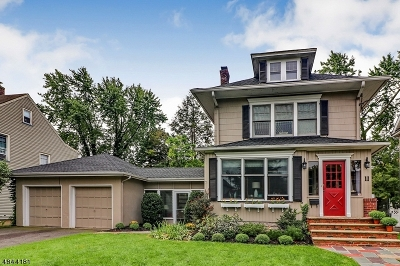 Cranford Twp. Single Family Home For Sale: 11 Beech St