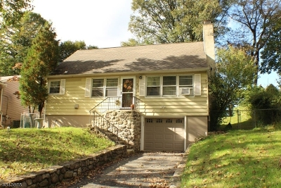 Sparta Twp. Single Family Home For Sale: 33 Park Rd