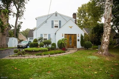 Cranford Twp. Single Family Home For Sale: 1022 Raritan