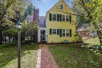 Morris Twp., Morristown Town Single Family Home For Sale: 104 Mills St