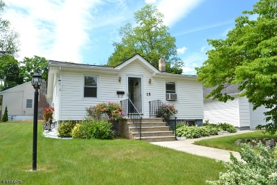 Parsippany-Troy Hills Twp. Single Family Home For Sale: 15 Hoffman Ave