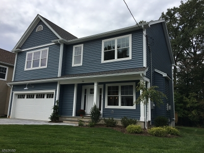 Cranford Twp. Single Family Home For Sale: 50 Wall St