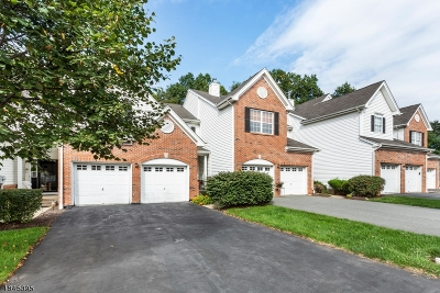 Raritan Twp. Condo/Townhouse For Sale: 8 Surrey Ln