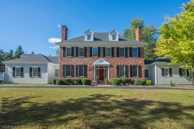 Florham Park Boro Single Family Home For Sale: 5 Heritage Rd