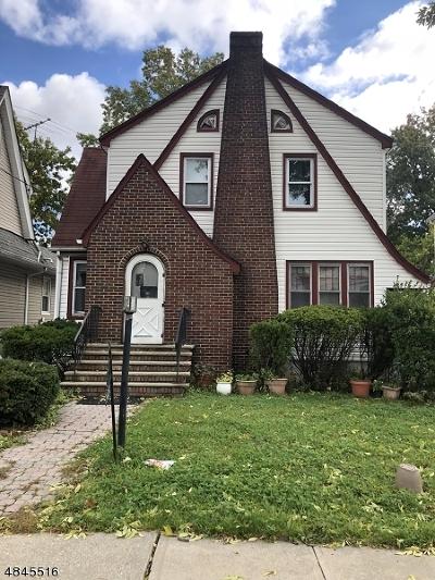 Hillside Twp. Single Family Home For Sale: 1451 Stanley Ter