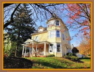 Morris Twp., Morristown Town Single Family Home For Sale: 74 Mills St