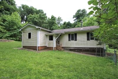 Glen Gardner Boro, Hampton Boro, Lebanon Twp. Single Family Home For Sale: 84 Musconetcong River Rd