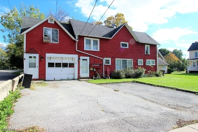 Branchville Boro Multi Family Home For Sale: 30 Wantage Ave