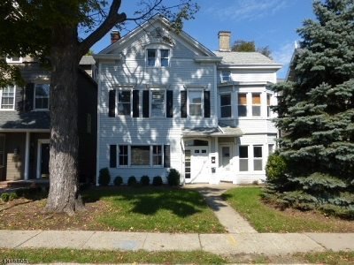 Morristown Town Rental For Rent: 21 Western Ave #3