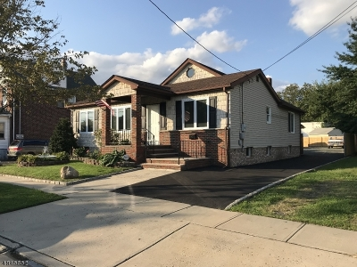 Linden City NJ Single Family Home For Sale: $364,900