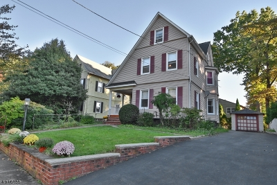 Glen Rock Boro Single Family Home For Sale: 15 S Highwood Ave
