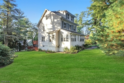 Millburn Twp. Single Family Home For Sale: 181 White Oak Ridge Road