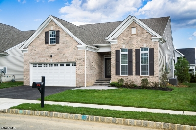 Mount Olive Twp. Single Family Home For Sale: 27 Gordon Way