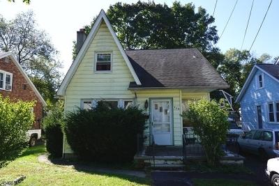 Scotch Plains Twp. Single Family Home For Sale: 424 Jerusalem Rd