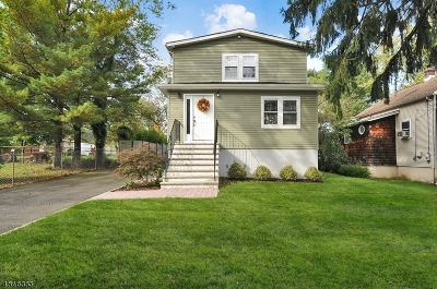 Long Hill Twp Single Family Home For Sale: 282 Mercer St