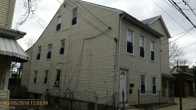 Paterson City Multi Family Home For Sale: 248 Governor St