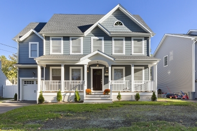 Scotch Plains Twp. Single Family Home For Sale: 2062 Church Ave