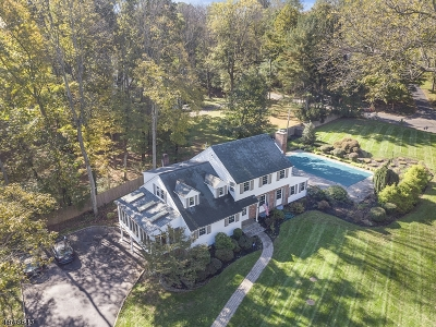 Bedminster Twp., Bernardsville Boro, Far Hills Boro, Mendham Boro, Peapack Gladstone Boro, Harding Twp., Bridgewater Twp. Single Family Home For Sale: 720 Old Dutch Rd