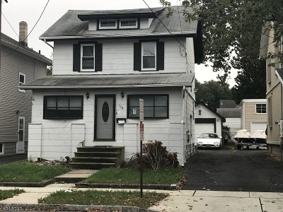 Roselle Park Boro Single Family Home For Sale: 128 W Colfax Ave