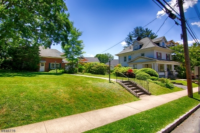 Bernardsville Boro Multi Family Home For Sale: 1 Olcott Ave