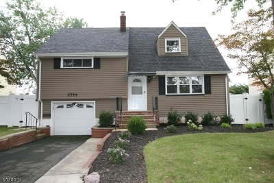 Union Twp. Single Family Home For Sale: 2754 Hickory Rd