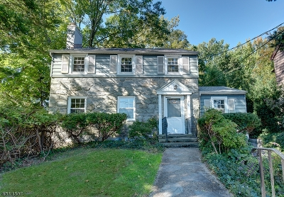 Millburn Twp. Single Family Home For Sale: 9 Southern Slope Dr