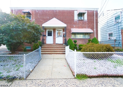 Kearny Town Single Family Home For Sale: 245 Highland Ave